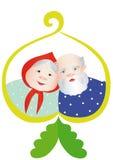 dziadkowie szczęśliwi Zdjęcia Stock