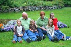 dziadkowie wnuków, fotografia royalty free