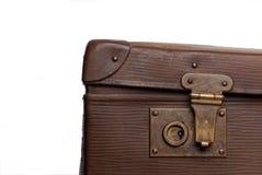 dziadunia kędziorka s walizka Zdjęcie Royalty Free