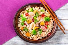 Dzicy i brown ryż z Obraz Royalty Free