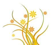 dzicy kwiatów winogrady ilustracji