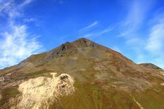 dzień łysa góra Obrazy Stock