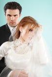 dzień ślub Obraz Royalty Free