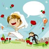 dzień ślub Obraz Stock