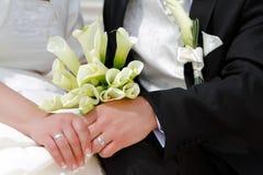 dzień ślub Fotografia Stock