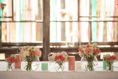 Dzień ślubu dekoracja obrazy royalty free
