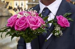 Ślubna dekoracja zdjęcia royalty free