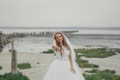 Dzień ślubu w Odessa Fotografia Royalty Free