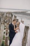 Dzień ślubu w Odessa Zdjęcie Stock