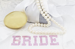 Dzień Ślubu Zaczyna Gniazdowego jajko Obraz Royalty Free