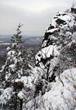 dzień śniegu Zdjęcie Royalty Free