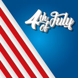 dzień amerykańska niezależność Zdjęcia Stock