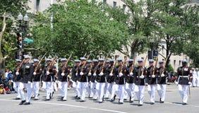 dzień dc pamiątkowa parada Washington Fotografia Royalty Free