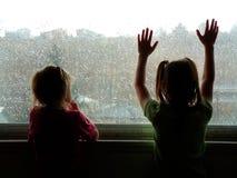 dzień deszcz obrazy stock