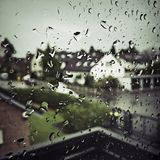 dzień deszcz Fotografia Royalty Free