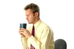 dzień dobry kawy Fotografia Royalty Free