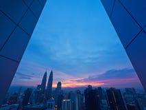 Dzień Dobry Kuala Lumpur obrazy stock