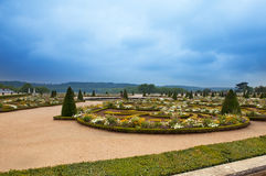 dzień France krajobrazu park pogodny Versailles fotografia royalty free