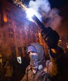 Dzień godność i wolność w Ukraina Obraz Stock