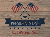dzień ikon prezydent ustawiający Obrazy Stock
