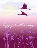 dzień karciana matka s Fotografia Royalty Free