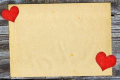 dzień karty ilustracja tutaj włożył s tekstu walentynki twój wektor Obrazy Stock