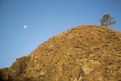 Dzień księżyc Zdjęcia Stock