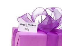 dzień kwiat daje mum syna matkom Zdjęcie Stock