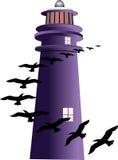 dzień latarnia morska Zdjęcie Stock