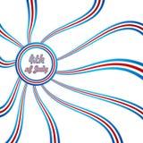 dzień lipiec niezależność Lipiec royalty ilustracja