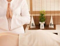 dzień masażu Oriental zdrój obraz stock
