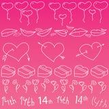 dzień miłość Obraz Royalty Free