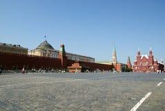 dzień Moscow czerwony Russia kwadratowy lato Obrazy Stock