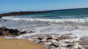 dzień na plaży Obrazy Stock