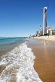 dzień na plaży Zdjęcia Royalty Free