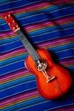 Dzień nieżywa gitara Fotografia Stock