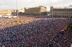 Dzień nieżywa parada w Meksyk Fotografia Stock
