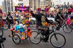 Dzień nieżywa parada w Meksyk Fotografia Royalty Free
