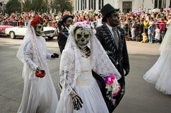 Dzień nieżywa parada w Meksyk Zdjęcia Stock