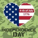Dzień Niepodległości Flag-08 Zdjęcia Royalty Free