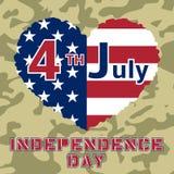 Dzień Niepodległości Flag-17 Obrazy Stock