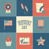 Dzień Niepodległości Grępluje kolekcję Zdjęcia Royalty Free