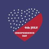 Dzień Niepodległości ikona i Fotografia Royalty Free