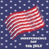 Dzień Niepodległości ikona i Obrazy Royalty Free