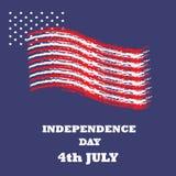 Dzień Niepodległości ikona i Zdjęcie Royalty Free