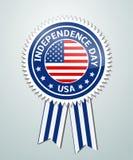 Dzień Niepodległości odznaka Obraz Royalty Free