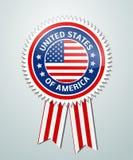 Dzień Niepodległości odznaka Obraz Stock