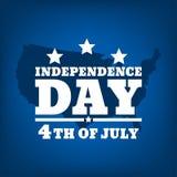 Dzień Niepodległości silhouette-02 Zdjęcia Stock