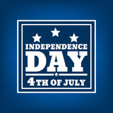 Dzień Niepodległości silhouette-03 Obrazy Royalty Free
