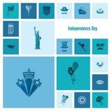 Dzień Niepodległości Stany Zjednoczone Zdjęcia Royalty Free